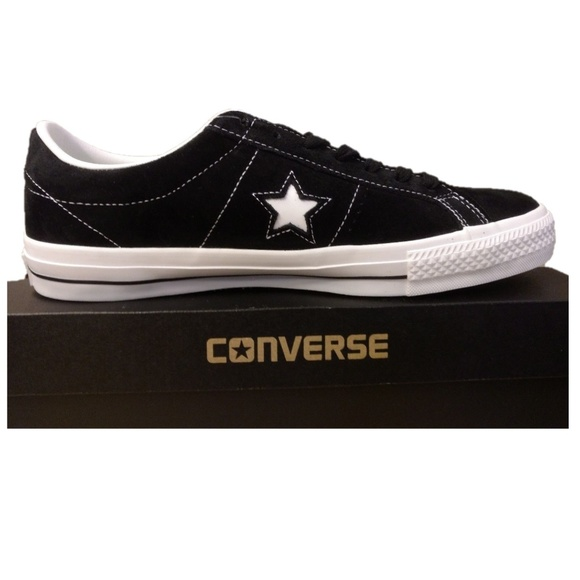91f1b642397227 Size 12 Converse One Star OX Suede Leather Shoes